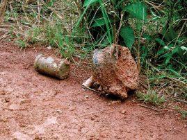 Conoce qué hacer si encuentras un artefacto explosivo